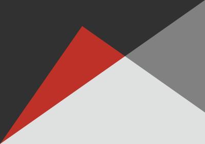 Fototapeta Trójkąty różnoboczne z dominującą czernią