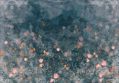 Fototapeta Kwiatowy ogród