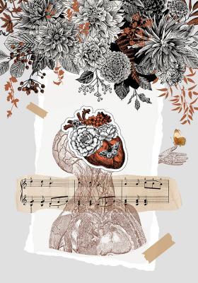 Plakat Muzyczna natura