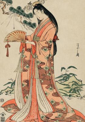 Plakat Japońska księżniczka