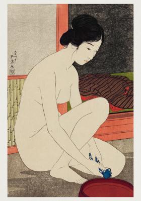 Plakat Naga japońska dziewczyna