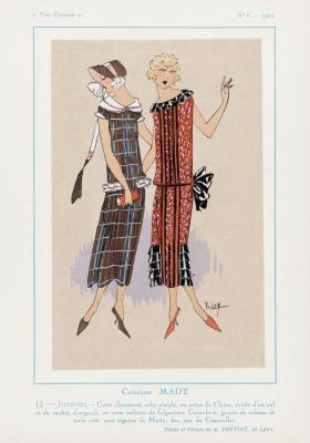 Plakat Nadworne arystokratki w sukniach midi