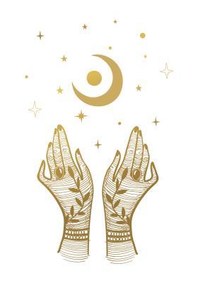 Plakat Dłonie wyciągnięte do księżyca