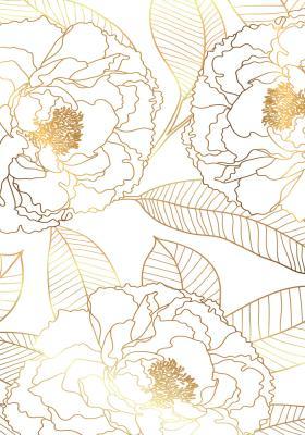 Plakat Rozłożyste kielichy kwiatów