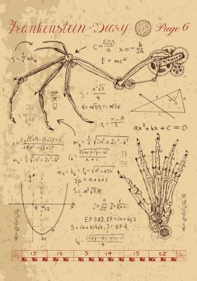 Plakat Anatomia dłoni z zainstalowanym mechanizmem