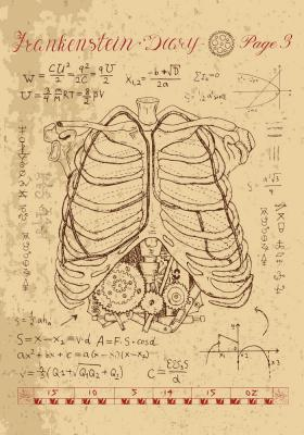 Plakat Anatomia klatki piersiowej i mechanizm w żebrach