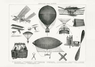 Plakat Maszyny latające