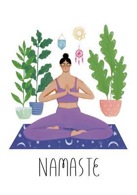 Plakat Namaste