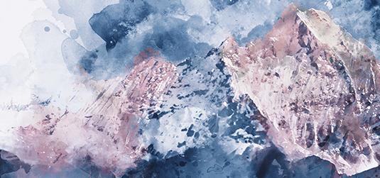 Abstrakcja ręcznie malowany