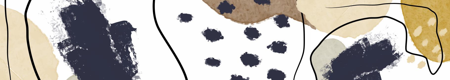 Plakat czarno-biały minimalizm