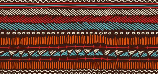 Afrykański wzór