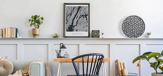 Aranżacja półek – zamień zwykły mebel w piękną dekorację pokoju