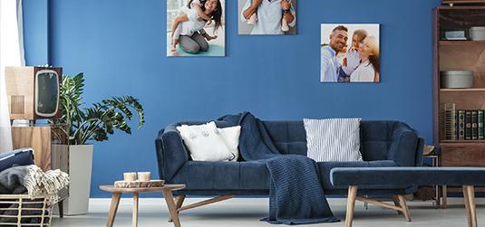 Aranżacja ściany nad sofą – 4 pomysły, które musisz poznać