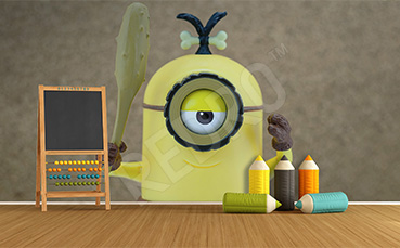 Bajkowa fototapeta 3d dla dzieci