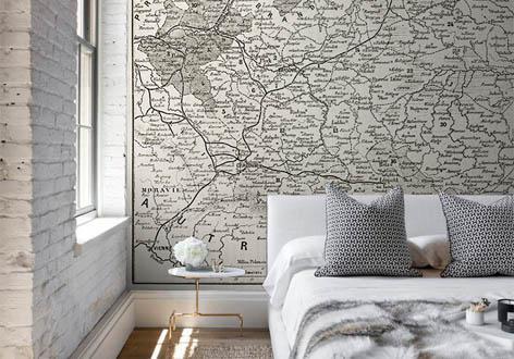 Fototapeta - Stara mapa Polski
