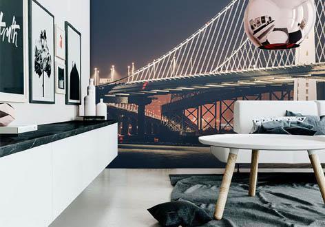 Fototapeta - Oakland Bay Bridge