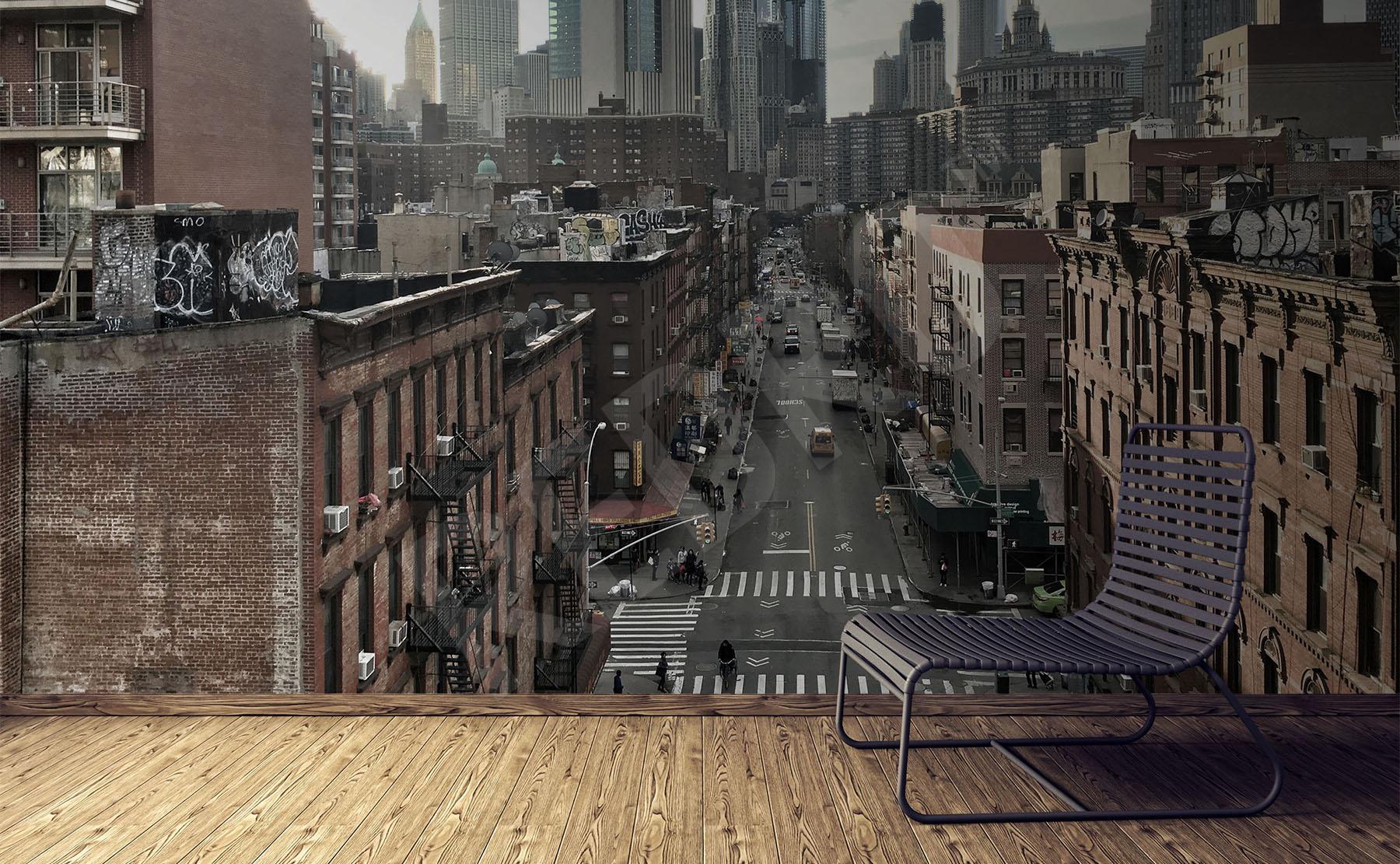 74d9dffa Fototapety 3d Nowy Jork - fototapety, naklejki, obrazy, plakaty ...