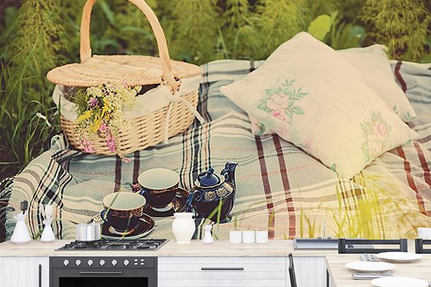 Fototapeta - Letni piknik