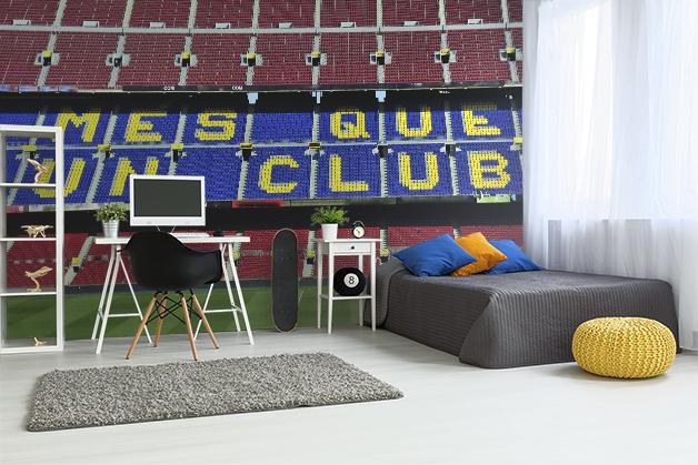 Fototapeta - Stadion Camp Nou  FC Barcelona Atletico Madryt