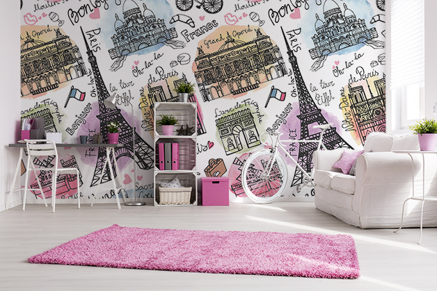 Fototapeta - Symbole Paryża