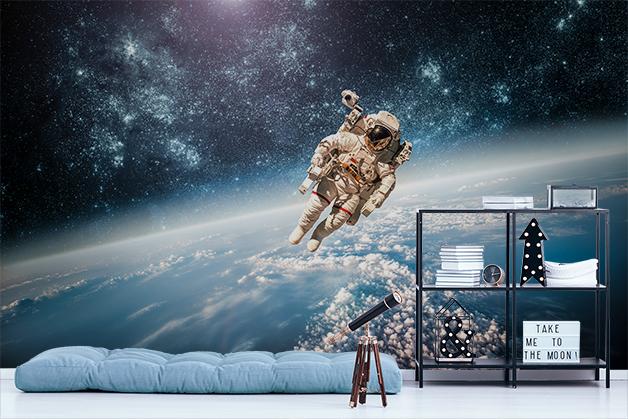 Fototapeta - W przestrzeni kosmicznej