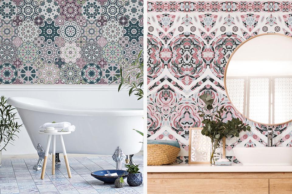 Mozaikowe propozycje do łazienki