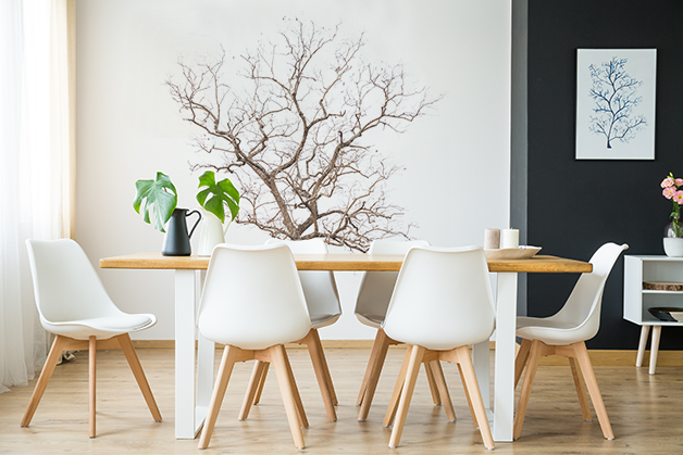 Naklejka - Suche drzewko