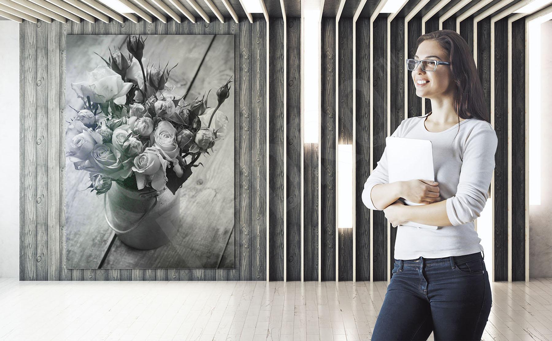 Obrazy Kwiaty Czarno Białe Obrazy Fototapety Naklejki Plakaty