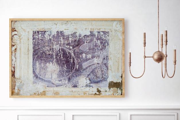 Obraz - Freski na starym murze
