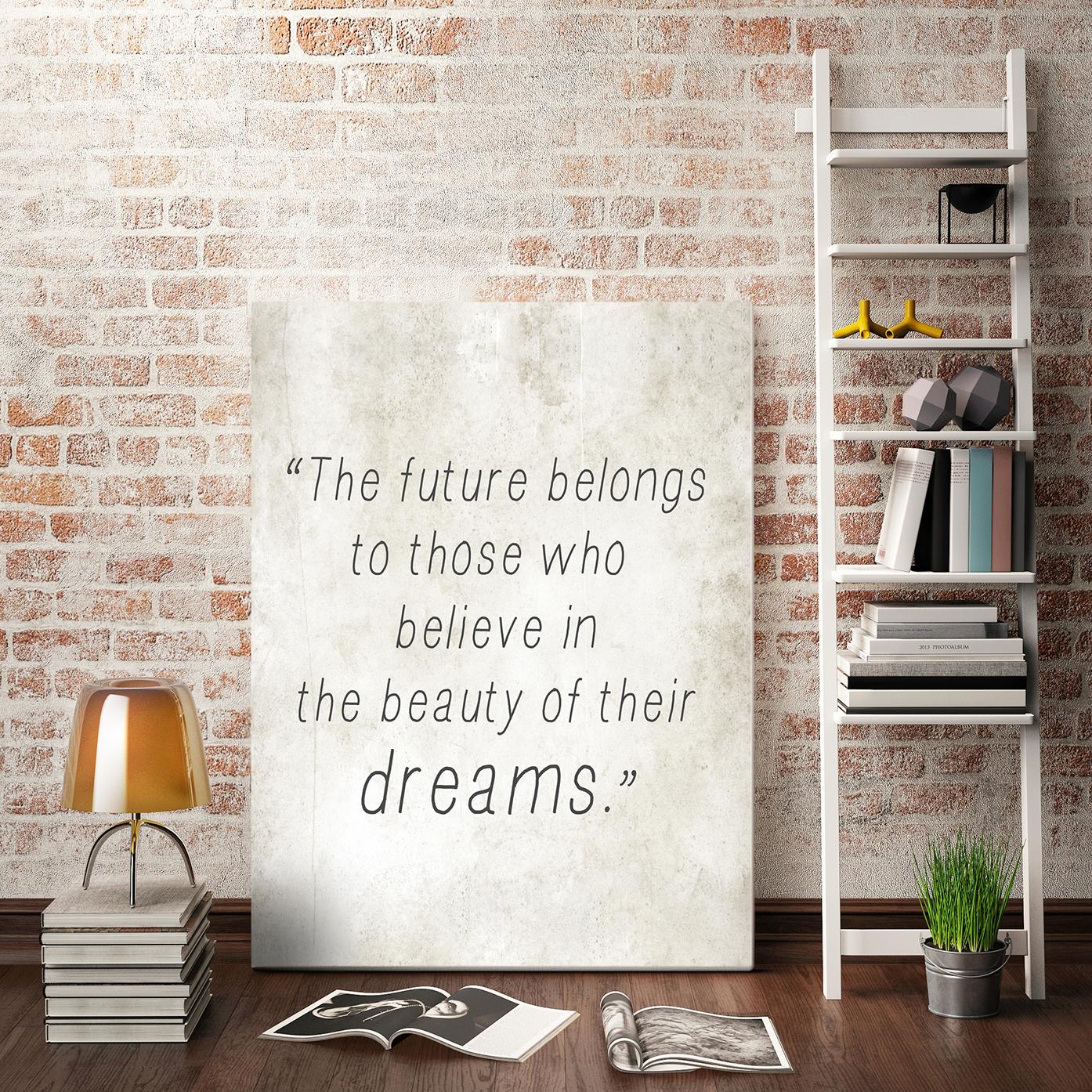 Obraz Inspirujące słowa