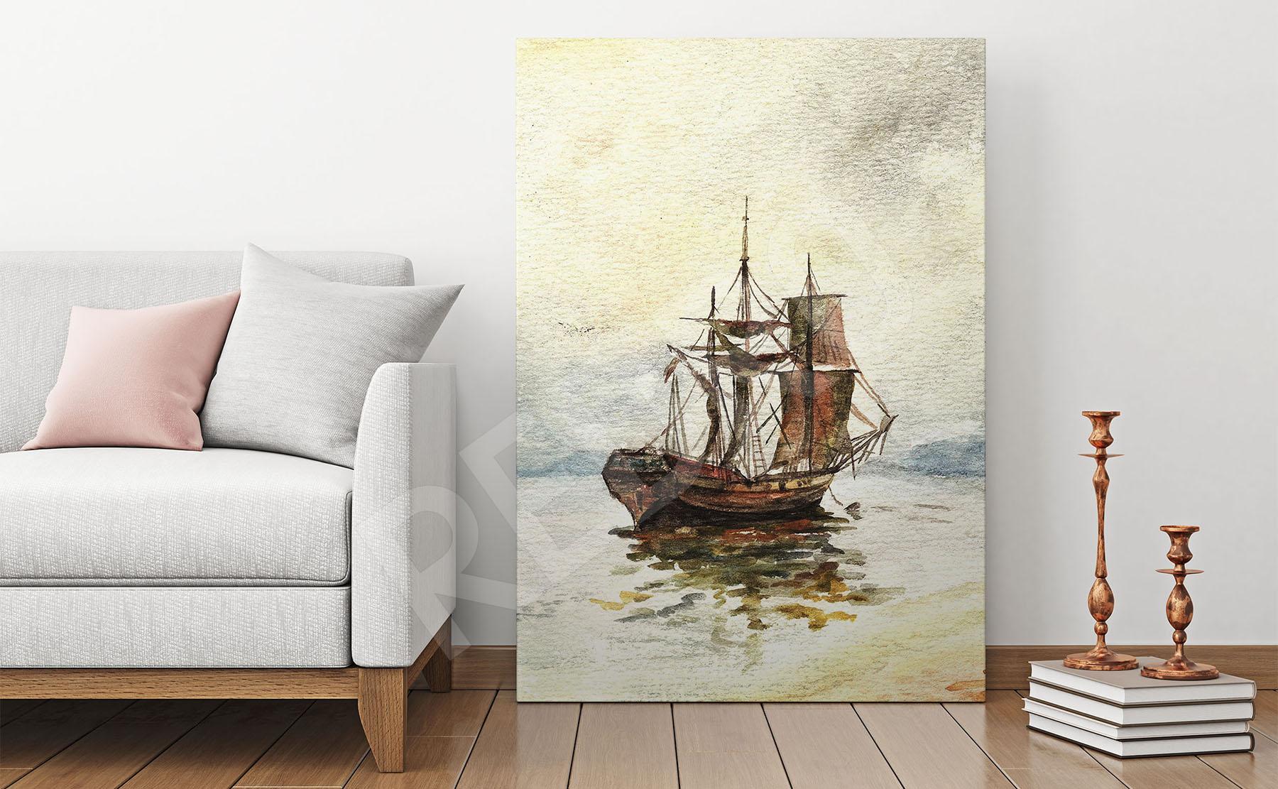 Nowość Obrazy statki na wymiar • REDRO.pl LB06