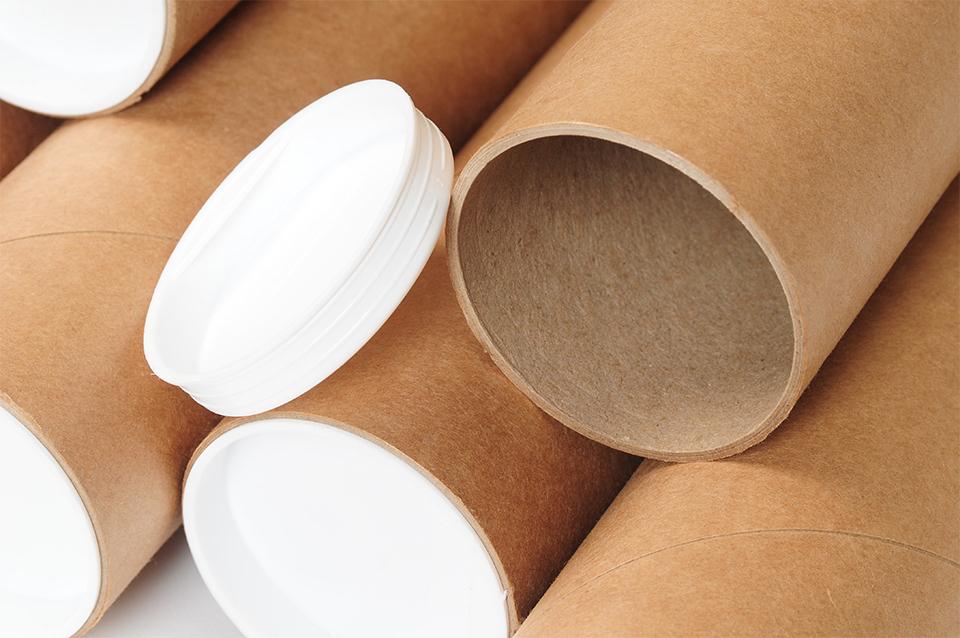 Papierowe tuby - to w nich przyjdą zamówione przez Was produkty