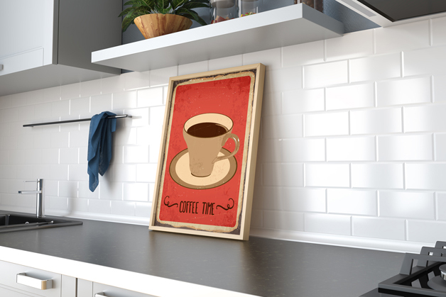 Plakat - Coffee time