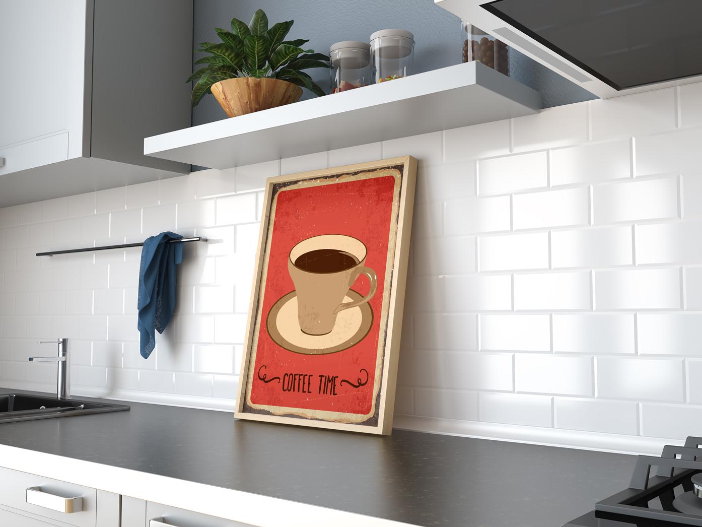 Plakat - Coffee time