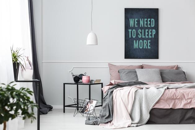Plakat - Musimy więcej spać