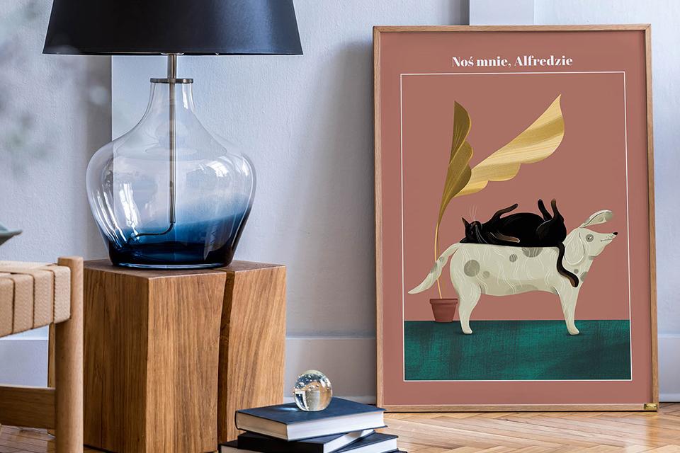 Plakat Noś mnie Alfredzie