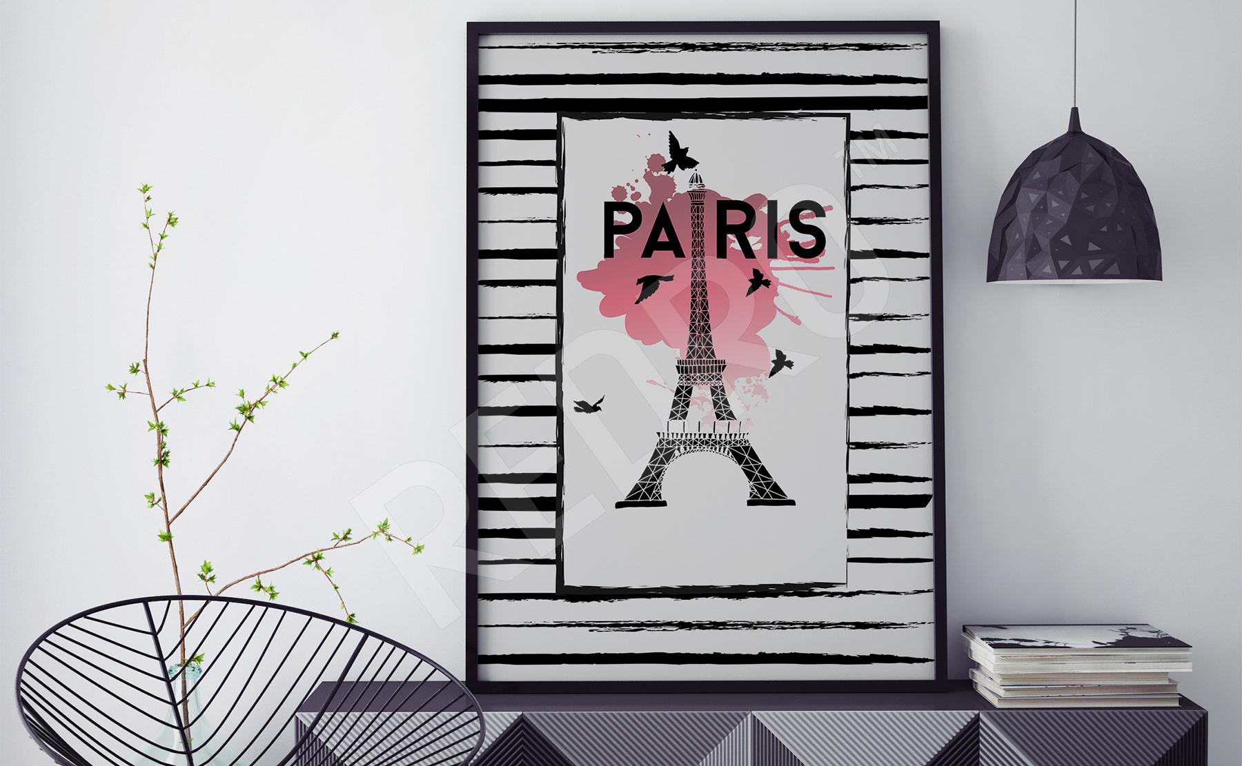Plakaty Paryż Na Wymiar Redropl