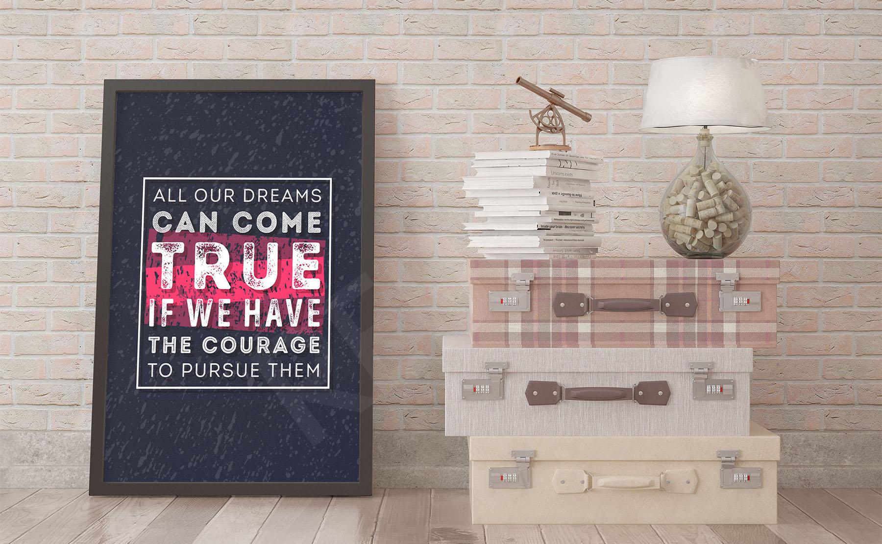 Plakaty Typografia Na Wymiar Redropl