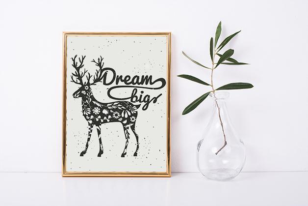Plakat Wielkie marzenia