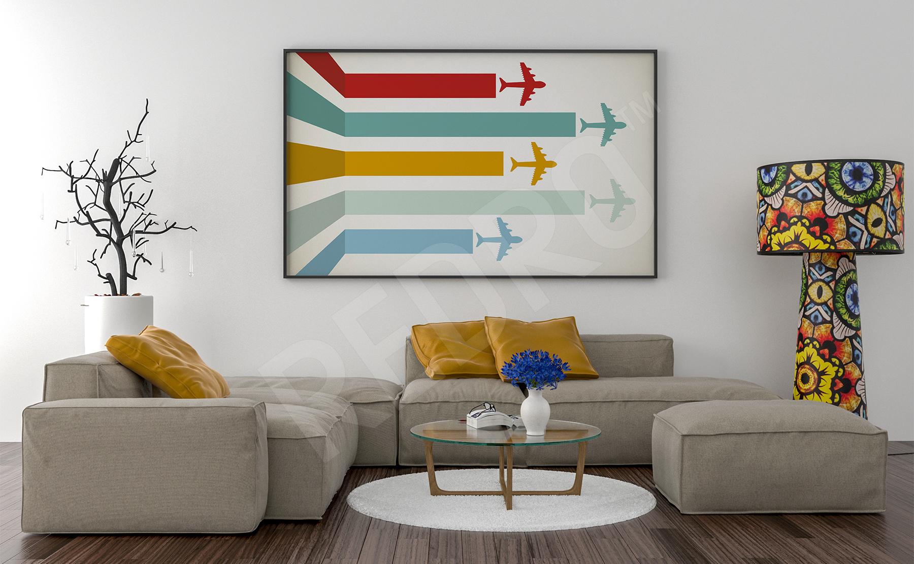 Plakaty Samoloty Na Wymiar Redropl