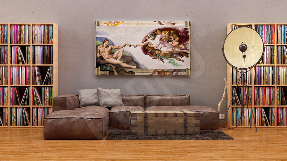 Reprodukcja obrazu Michała Anioła