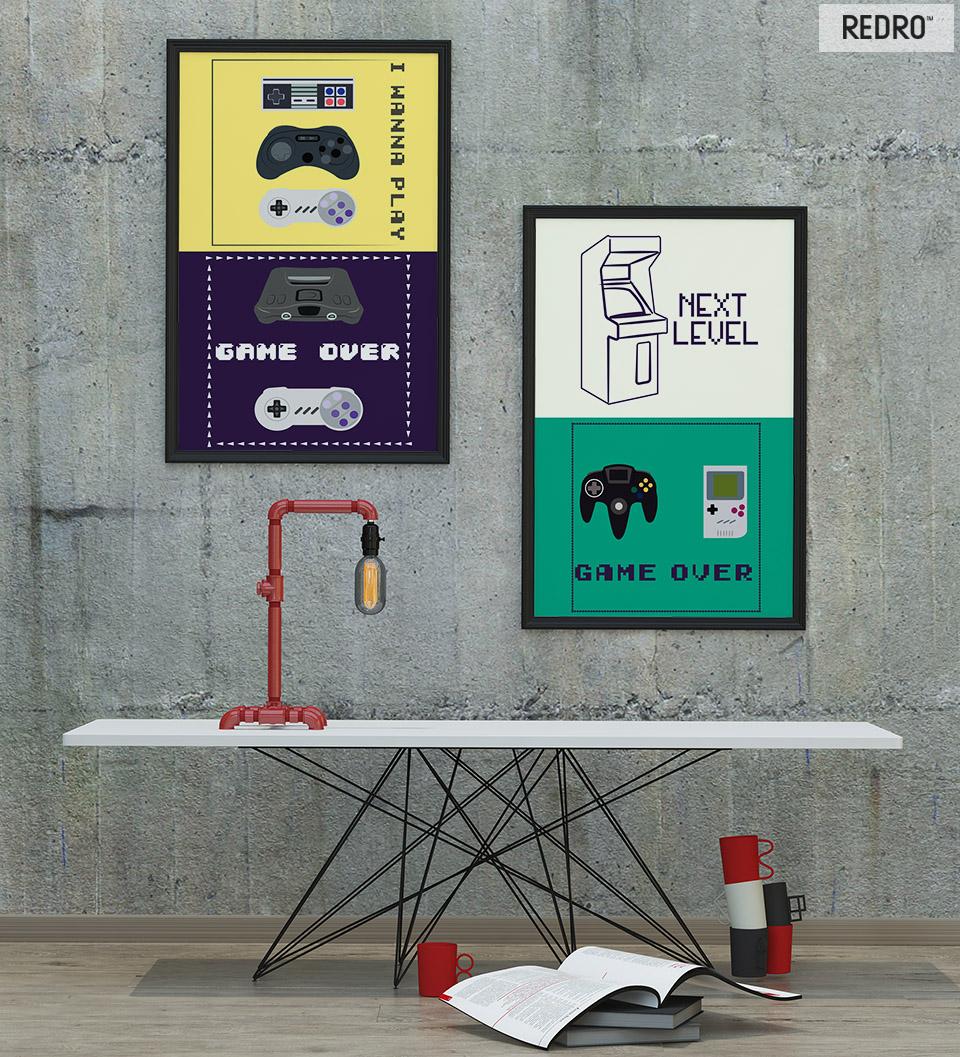 Artykuły Plakaty Z Gier Nie Tylko Do Pokoju Nastolatka Redro