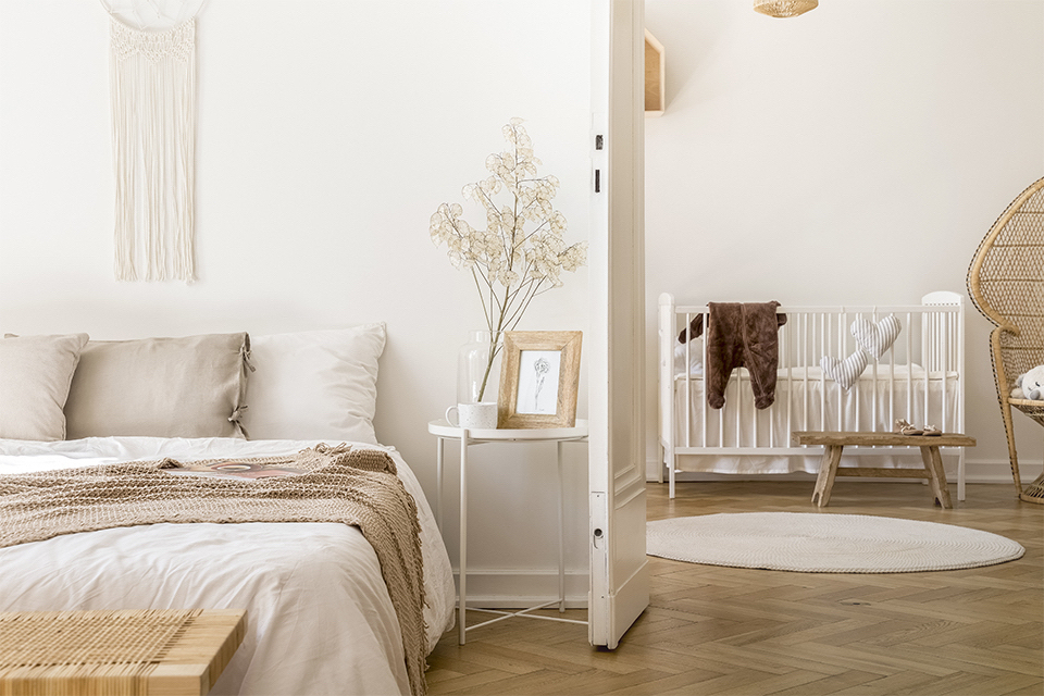 Sypialnia i pokój niemowlaka