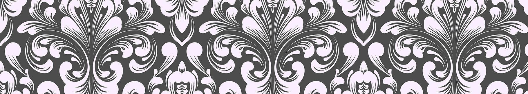 Czarno-biała fototapeta glamour