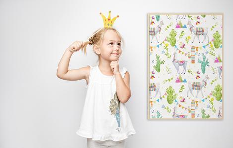 Dziecięcy plakat zwierzęta