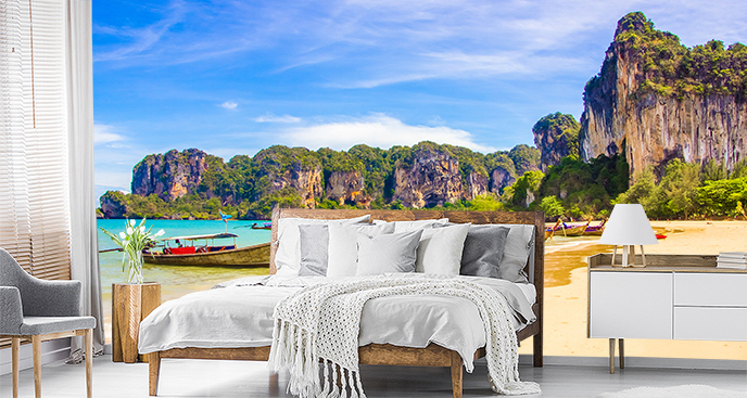 Egzotyczna fototapeta panorama