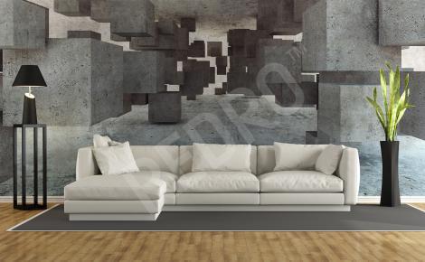 Fototapeta 3d na ściane