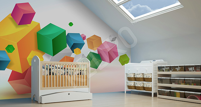 Fototapeta abstrakcja dla dzieci
