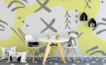 Fototapeta abstrakcja do pokoju dziecka