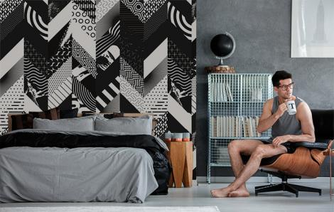 Fototapeta abstrakcja do sypialni